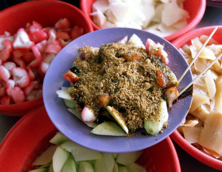 fruits rojak
