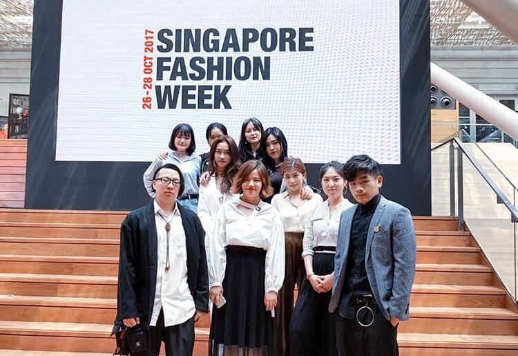MDIS graduate fashion designers.