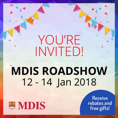 MDIS Roadshow 2018