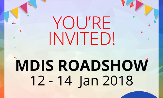 MDIS Roadshow 2018