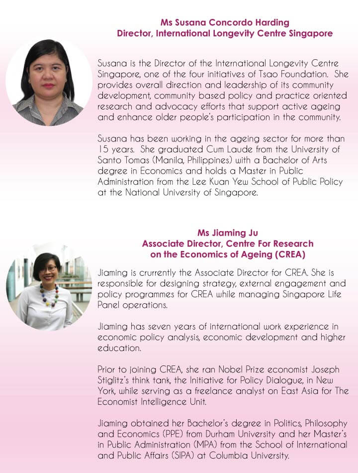 Women's dialogue with SCWO speakers