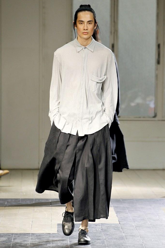 Yohji Yamamoto Pour Homme SS12