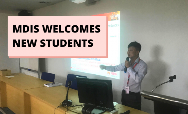 MDIS welcomes new students