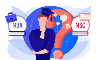 difference between MBA and MSc